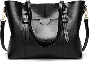 Free HAOSHIDUO Womens Top Handle Crossbody Handbags...