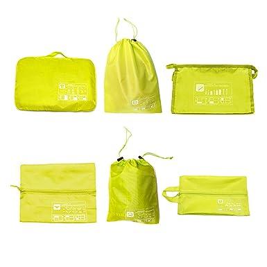 Amazon.com: TULN - Juego de 6 bolsas de almacenamiento para ...