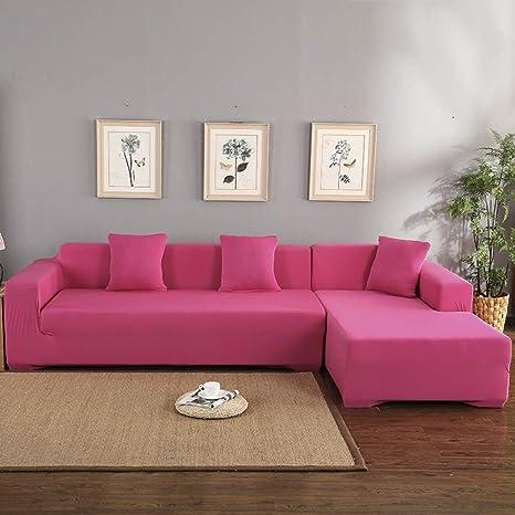 Amazon.com: QTDJ - Fundas antideslizantes para sofá de 2 ...