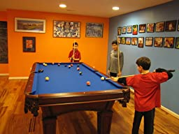 Perfect For $2,000 And 2.5 Weeks Later All Is Done And We Are Enjoying The Pooltable.  Thank You Pooltables.com.