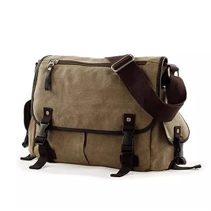 Outdoor Men Travel Military Messenger Bag Shoulder Crossbody Handbag Satchel Bag