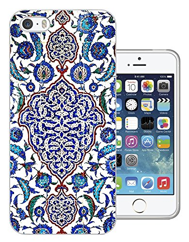 073 - Vintage Shabby Chic Paisley Middle East Art Design iphone SE - 2016 Fashion Trend Silikon Hülle Schutzhülle Schutzcase Gel Rubber Silicone Hülle