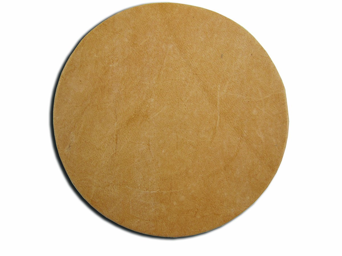 Springfield Leather Company 25 Pack of 3-1/4 Round Vegetable Tan Cowhide LeatherShapes