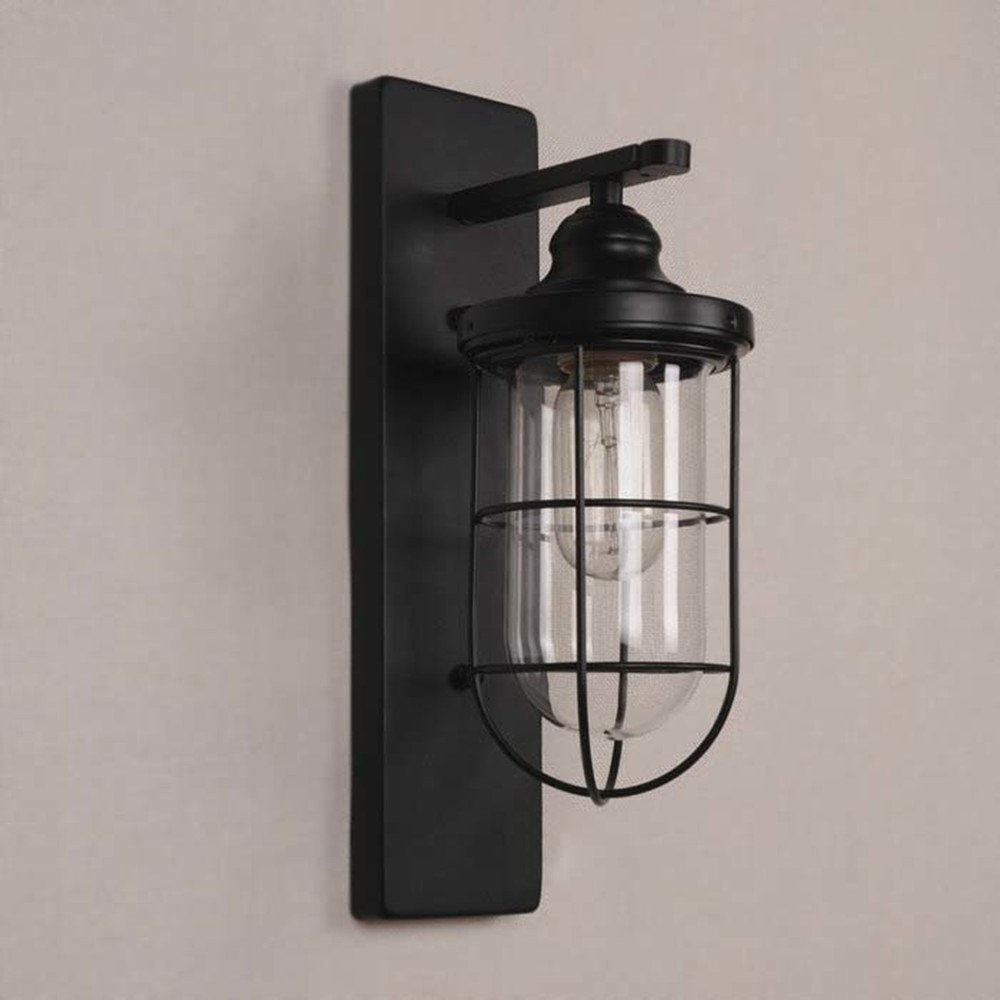 LED Design Wandleuchte goldfarben Wandlampe Made in Italy Flurlampe Glas Lampe