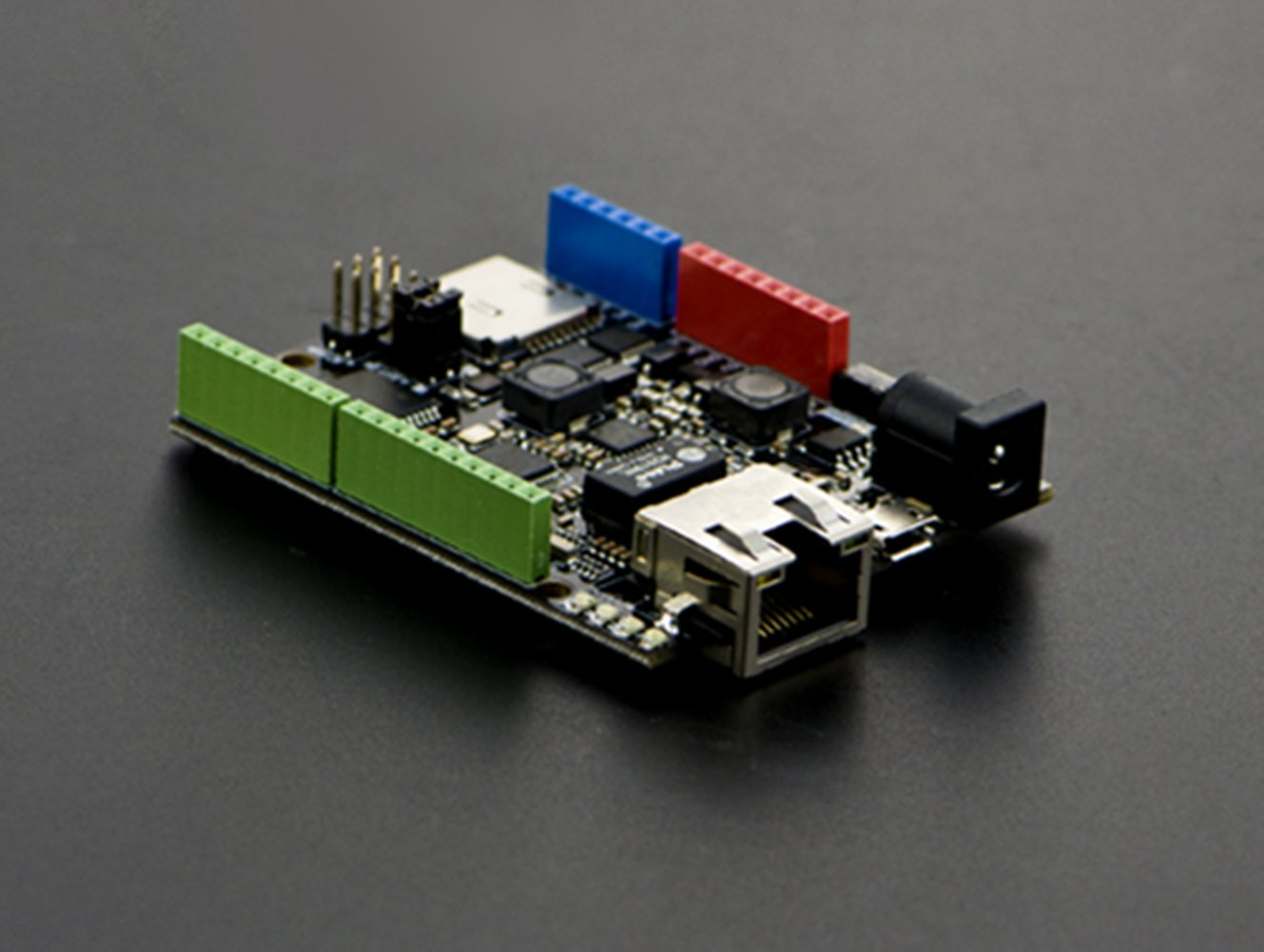 W5500 Ethernet With POE Control Board(Arduino Compatible)/W5500 Chip Is A Hardwired TCP/IP Embedded Ethernet Chip That Provides Easier Internet Connection To Embedded Systems