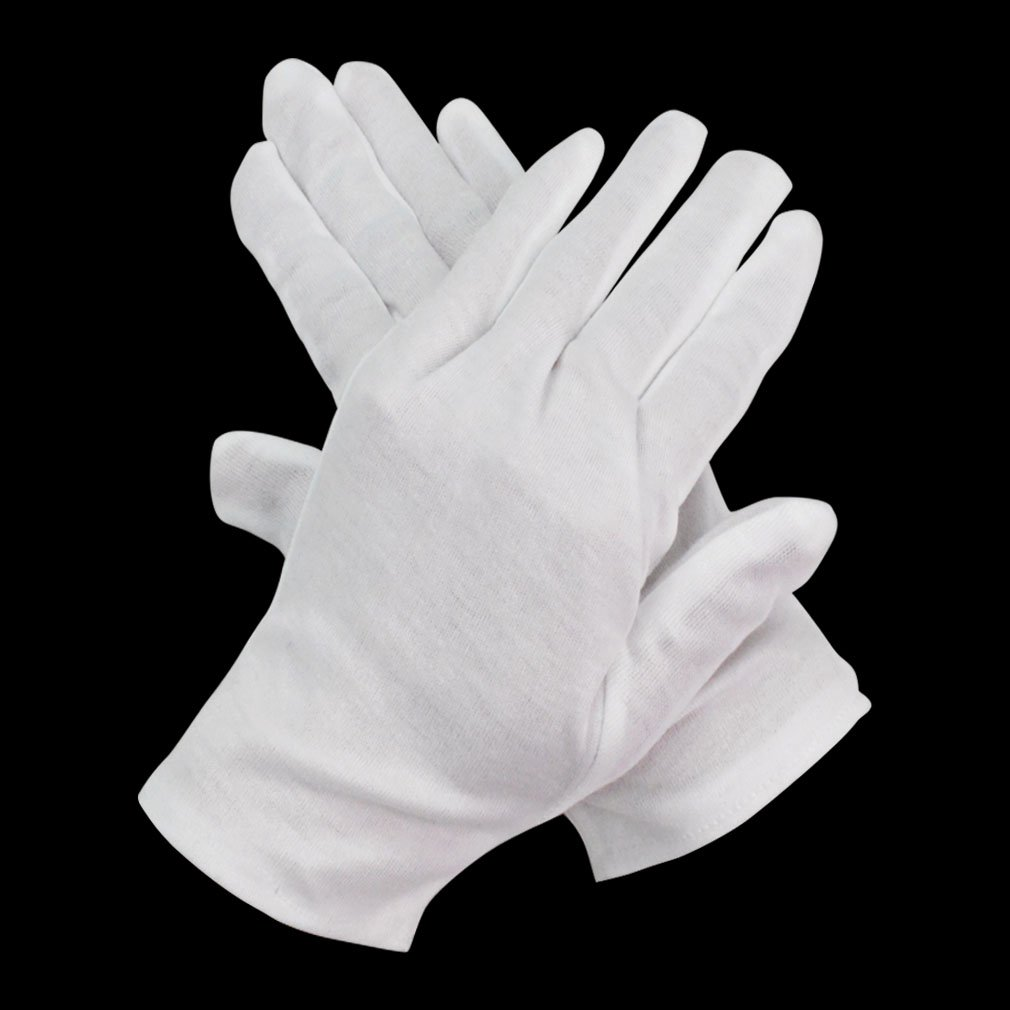 Black cotton gloves for eczema - 12 Pairs White Cotton Gloves Marrywindix 8 Soft Lightweight Work Gloves Cotton Gloves For Wedding Workshop Farm Garden One Size Work Gloves Amazon