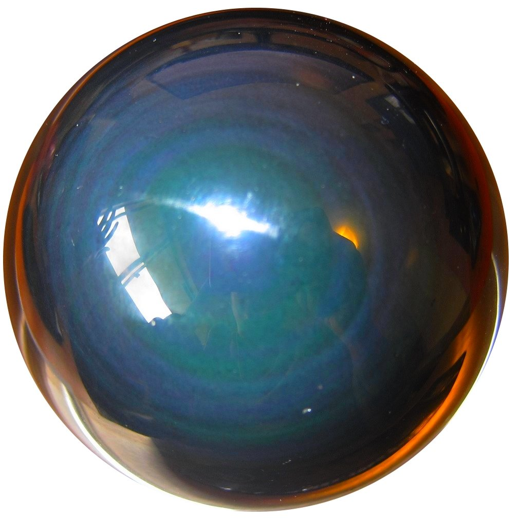 SatinCrystals Obsidian Rainbow Ball Premium Quality Upper Chakras Protective Guardian Double Eye Sphere Healing Stone P01 (2.4 Inches) by SatinCrystals (Image #5)