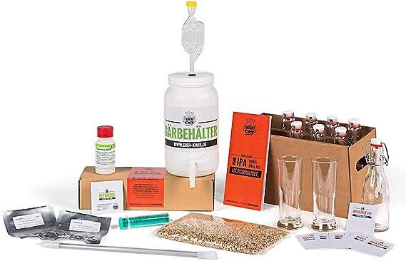 Geschenkbox Caja de Regalo Kwik Micro fermentar Cerveza (IPA ...
