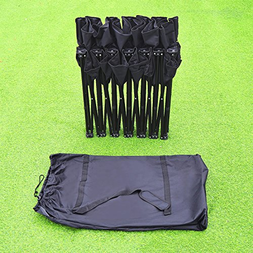 Portable 6 Seater Team Sports Sideline Bench Sits Outdoor Waterproof Folding Foldable