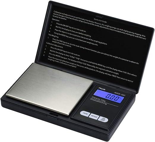 100g X 0.01g Resolution American Weigh Scale AWS-100 Digital Pocket Scale