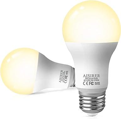 E14 SES//BC//ES 9w Smart candle Bulb Lamp WIFI RGB UK stock 9 Alexa//Google Home