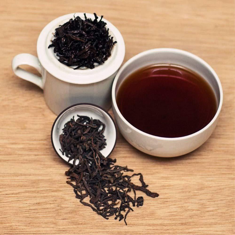 Yan Hou Tang - 10 Years Organic Chinese Yunnan Puerh Tea Loose Leaf Old Aged Black High Fermented Caffeine Non-GMO Natural Health Detox US FDA SGS Verified 50g