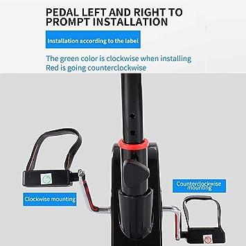 WuoooLi Bicicleta de Spinning, Asiento Ajustable,Monitor LCD ...