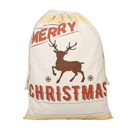 Dowoa Bolso de Navidad, Bolsas Lindas de Gran Bolsas con ...