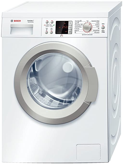 Bosch WAQ24410EE Independiente Carga frontal 7kg 1200RPM A+ Blanco ...