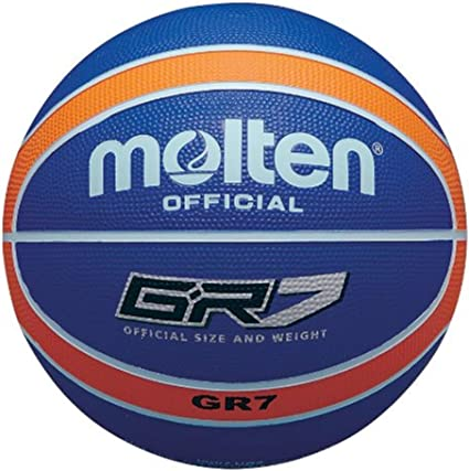 MOLTEN Basket Ball-Pelota de Baloncesto (Talla 7), Color Rojo ...