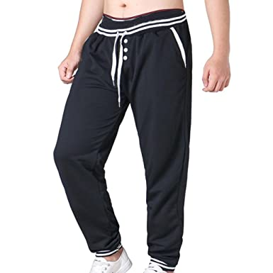 b537c737d8f HOMEBABY Men s Jogger Dance Sports Trousers - Male Casual Gym Yoga Workout  Running Pants Trousers Sport Wear Sweatpants- Fitness Pants Tracksuit  Leggings ...