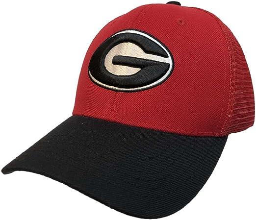 "Georgia Bulldogs NCAA Top of the World /""Trainer/"" Adjustable Mesh Back Hat"
