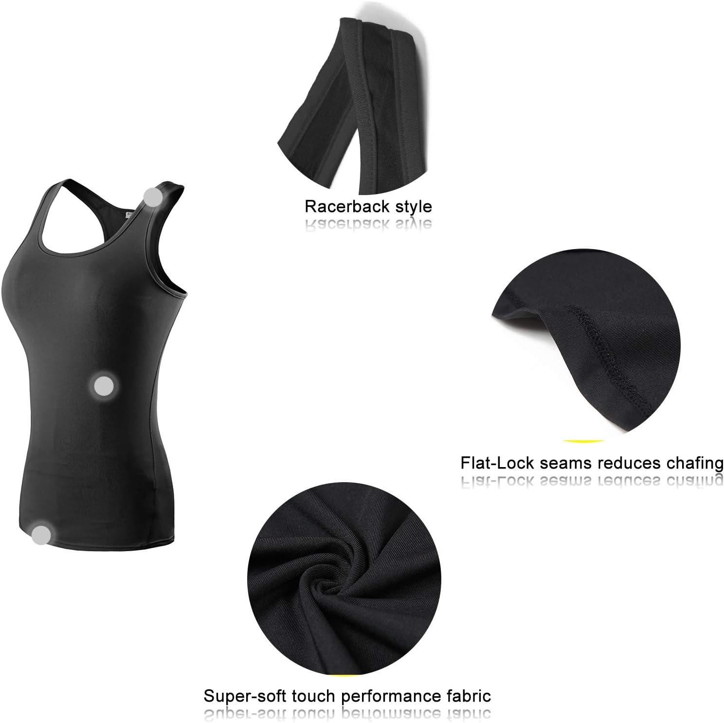 AMZSPORT Trendy Series D/ébardeur de Yoga pour Femme Gilet sans Manches pour Femme