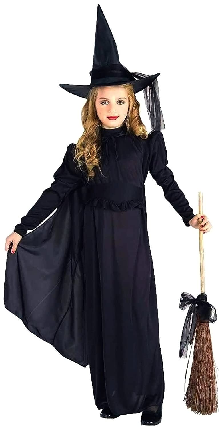 Amazon.com: Forum Novelties Classic Witch Child Costume, Medium ...