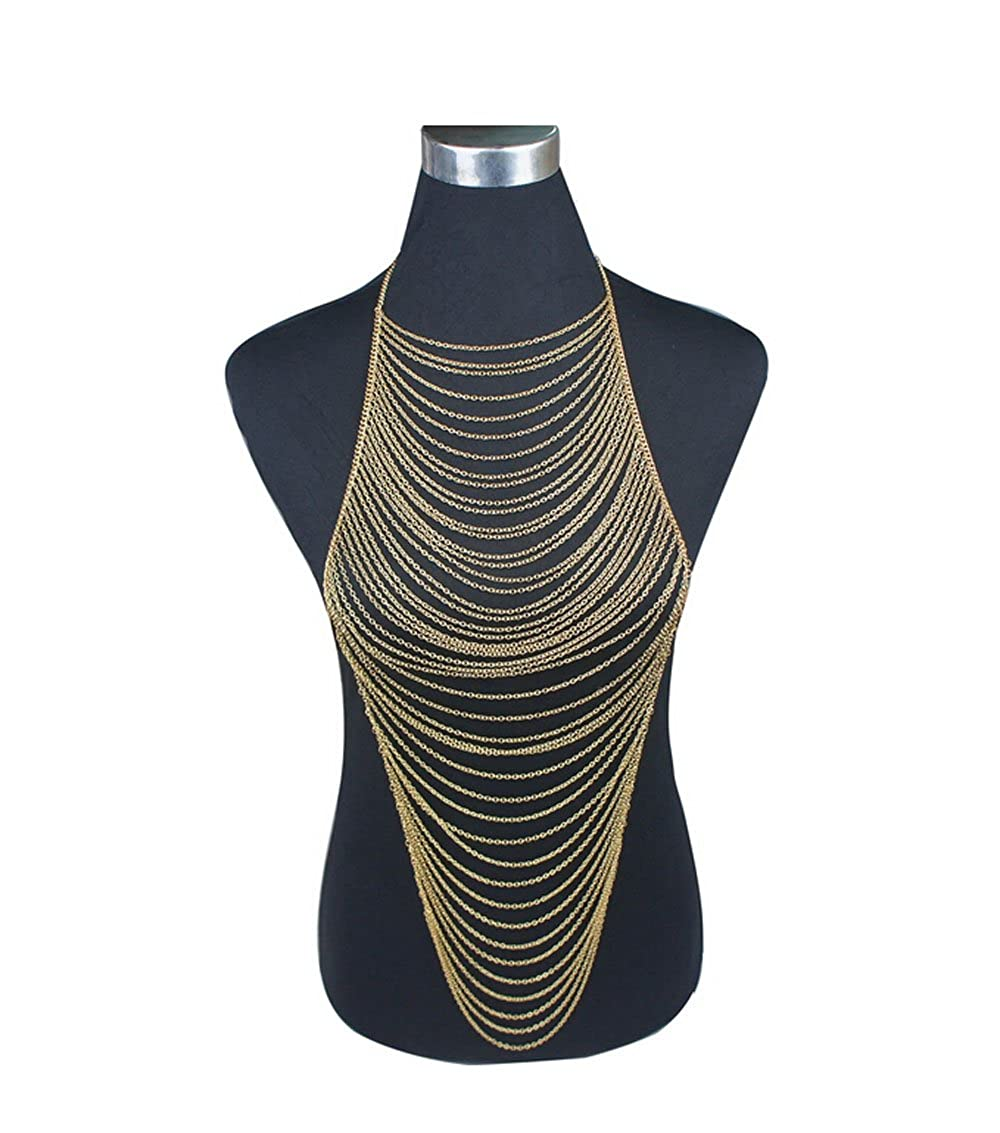 Amazon.com: Dofull Horizontally Layered Body Chain Body Jewelry(ST01): Jewelry