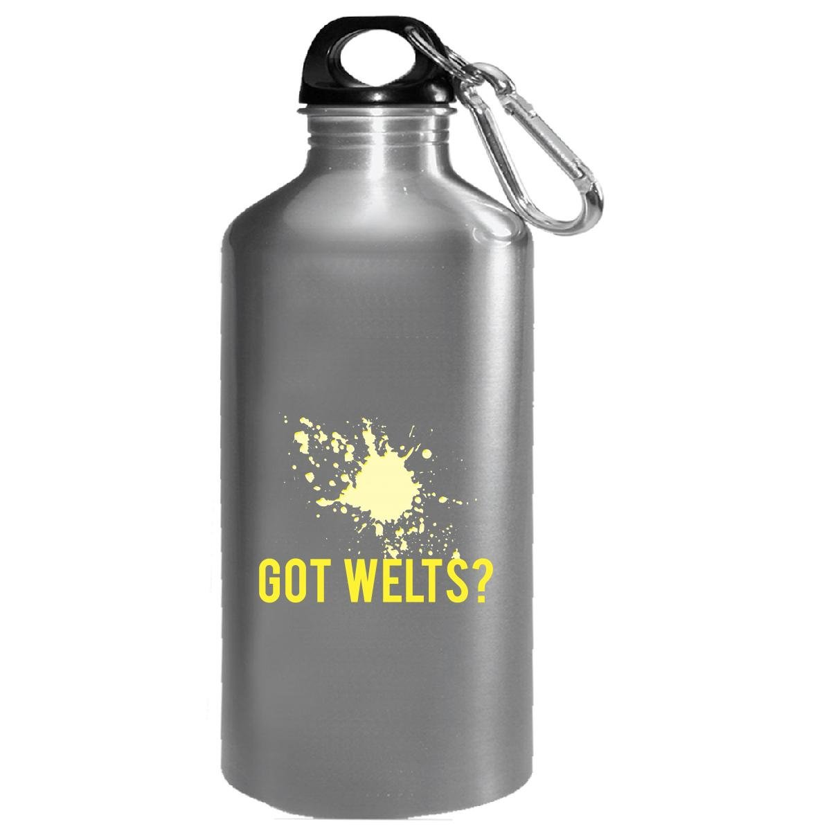 Paintball Got Welts Extreme Sports Paint Ball Humor Airsoft - Water Bottle