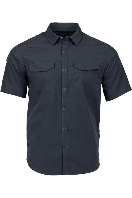 Large Tornado Magpul Mens R/&r Plaid Short Sleeve Button-up Shirt