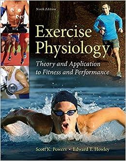 Exercise physiology homework help