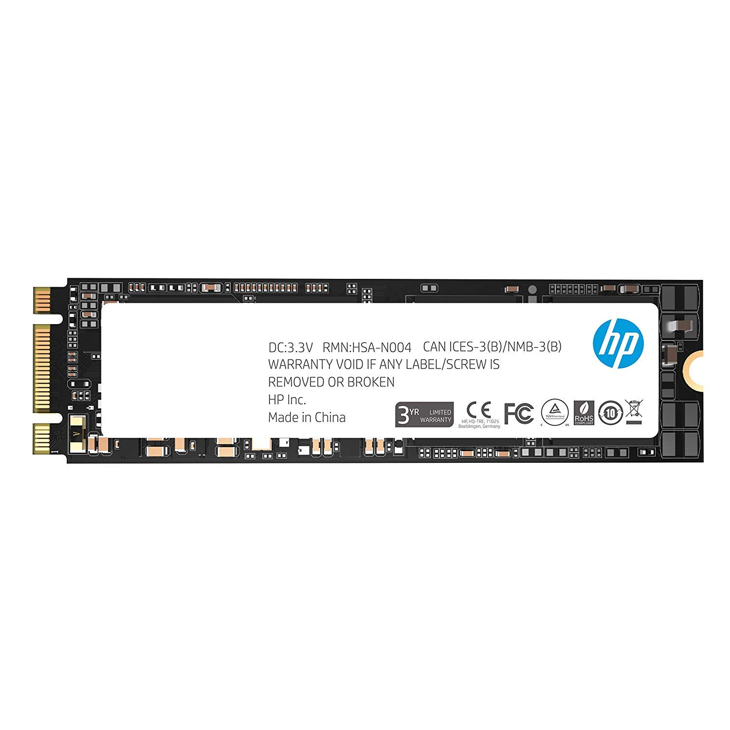 HP SSD S700 M.2 250GB SATA III 3D TLC NAND Internal Solid