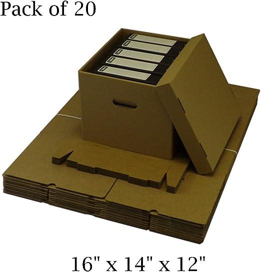 20 x caja de cartón Archive de almacenamiento de oficina ...