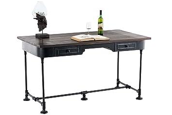 Clp bureau crew avec structure en fer robuste table de bureau avec