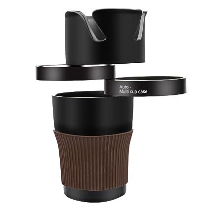 Portavasos para Coche – Vanwalk 5 en 1 ajustable Auto Multi Cup titular-ajustable y