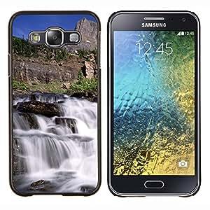 - River Water View - - Cubierta del caso de impacto con el patr??n Art Designs FOR Samsung Galaxy E5 E500 Queen Pattern