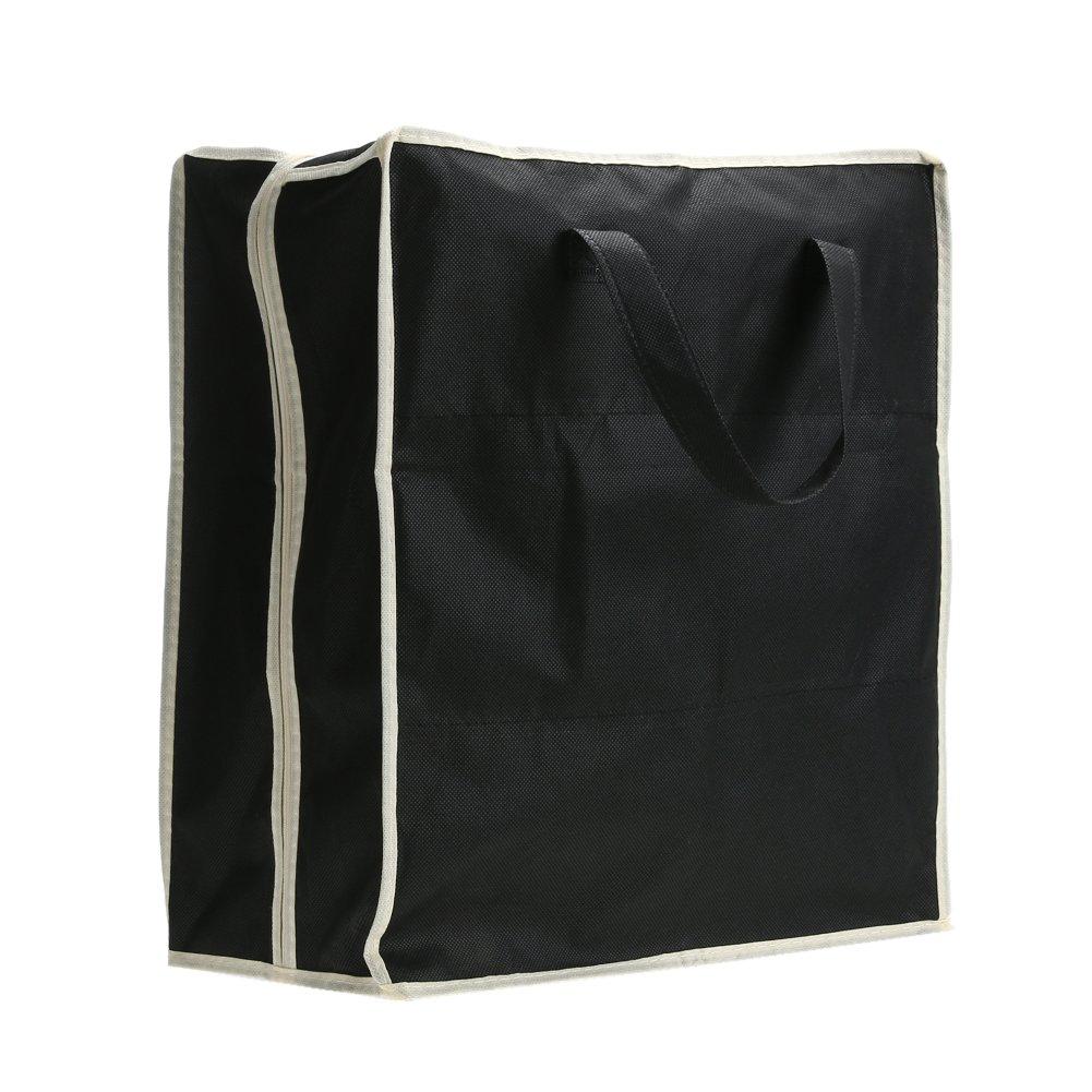 UEB Borsa Portascarpe da Viaggio Organizzatore Scarpe da Viaggio Porta Scarpe 6 Paia Anti Polvere (Nero)