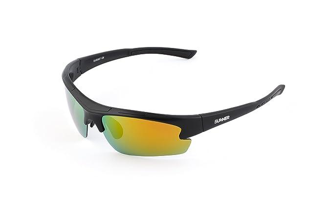 Sunner Gafas de Sol Deportivas Polarizadas SUS597 Súper Lígeras Para Hombre y Mujer Ideal Para Esquiar