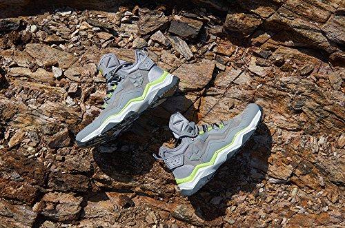 Rax Pour De Bottes Noir Trekking Randonne En Hommes Chaussures Multifonctionnel Cuir Impermable Montagne wExtp