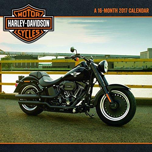 Harley-Davidson 16-Month Calendar September 2016 through December 2017 R 2017