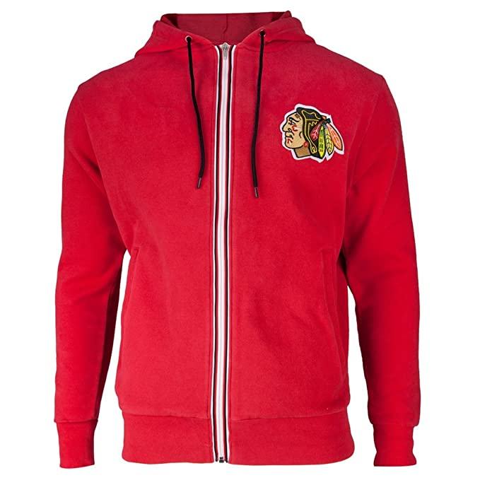 Amazon.com   NHL Chicago Blackhawks Ty Full-Zip Hoody Men s   Sports ... ce128b38e