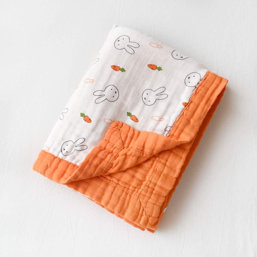 ZHAIZX Baby Soft Quality Blankets Bamboo Towel, six Layers of Gauze, Newborn Children's Towel (Pattern : C, Size : 47.2X47.2in) by ZHAIZX