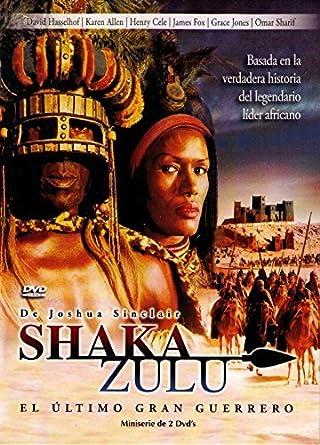 Amazon.com: Shaka Zulu: El Ultimo Gran Guerrero - 2 dvds ...
