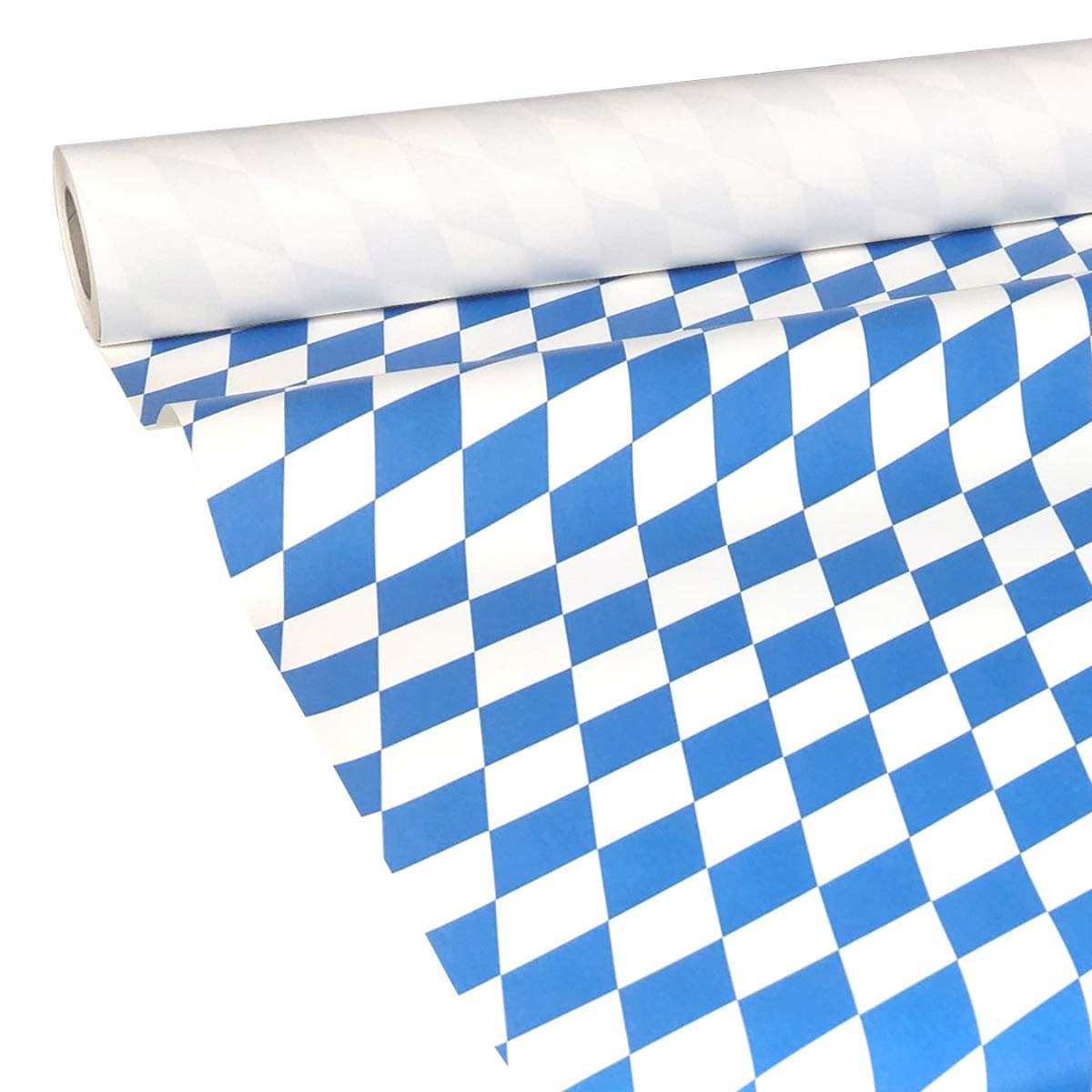 50M x 0,20M JUNOPAX/® Banquet Roll paper table runners Bavaria Oktoberfest Disposable Table Runners wetproof and damp wipeable