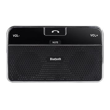 Manos Libres Bluetooth 4.0 para Coche, Altavoz Incorporado de 2W ...
