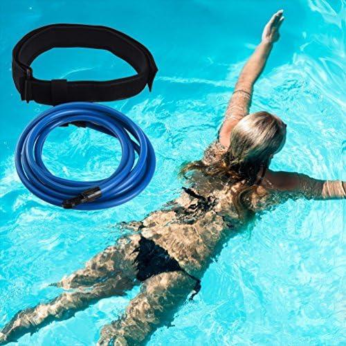 RUNACC Cinturón de natación Ajustable para Piscinas de natación
