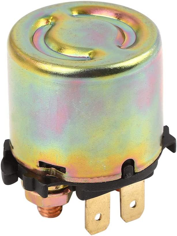 uxcell Starter Solenoid Relay for Kawasaki Bayou 300 4x4 1989-2002 RL1892RE135AR