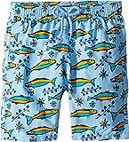 Vilebrequin Kids Boy's Sardines À L¿Huile Swim Trunk (Big Kids) Blue 14 Years