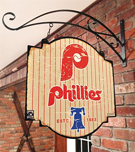 Winning Streak MLB Philadelphia Phillies para Hombre Cartel de Taberna, tamaño Grande, Color Rojo