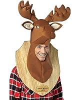 Loose Moose Adult Trophy Head, One-Size, Brown