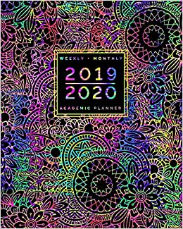 2019 2020 | Weekly + Monthly Academic Planner: July to June ...