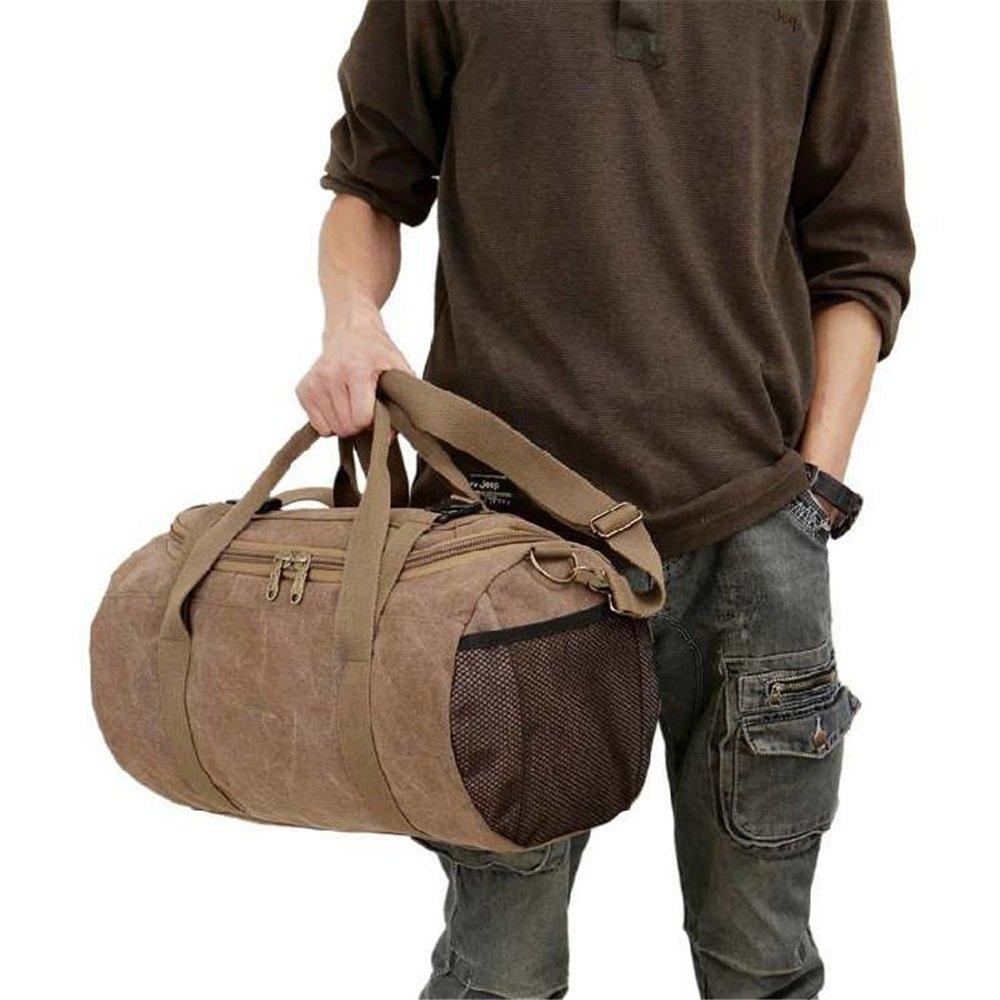 Cross Tour Package Gym Sports Luggage Bag Single Shoulder Drum Bag Fashion Hand Luggage Travel Duffel Canvas Travelling Bag Short Wave