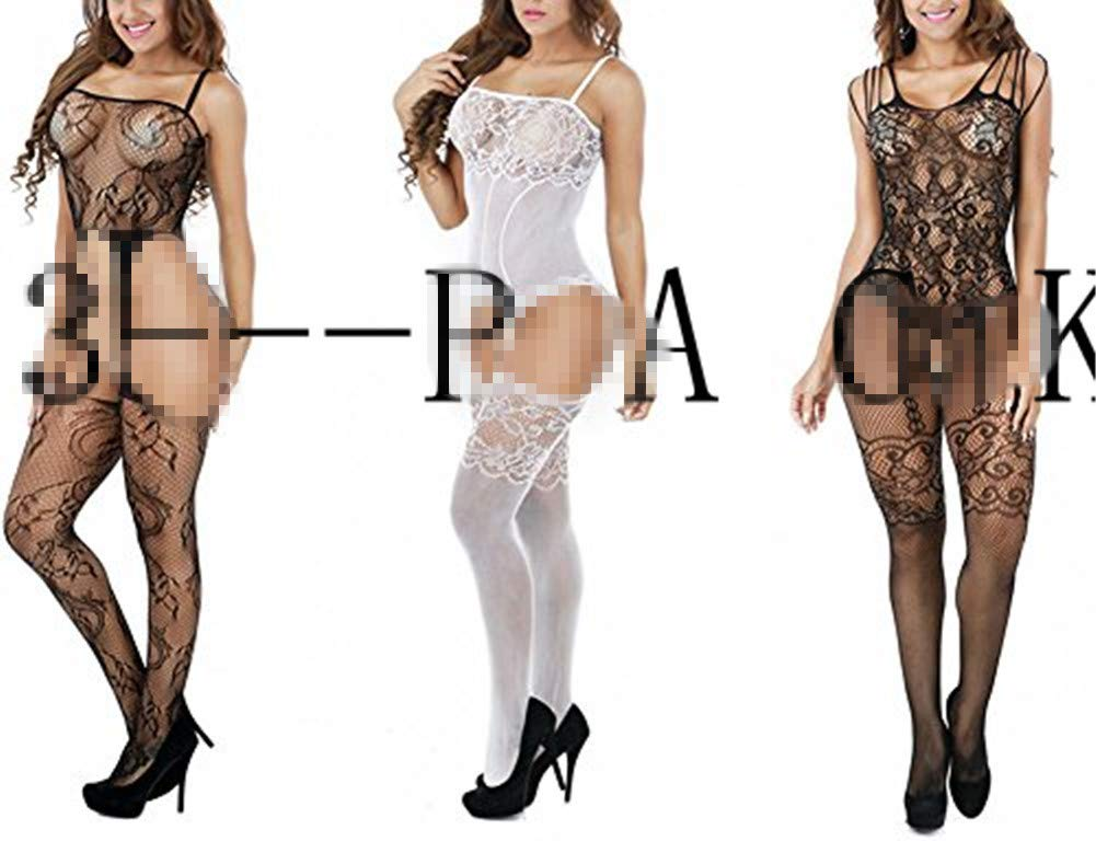 Women Sexy Mesh Lingerie Fishnet Free Size Crotchless Bodystockings Bodysuit Babydoll